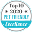 Top 10 Pet Friendly 2020