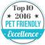 Top 10 Pet Friendly 2016