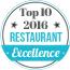 Top 10 Restaurant 2016