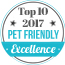 Top 10 Pet Friendly 2017