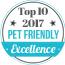 Top 10 Pet Friendly 2017