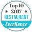 Top 10 Restaurant 2017