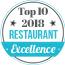 Top 10 Restaurant 2018