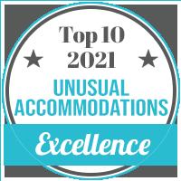 Top 10 Unusual Accomodations 2021